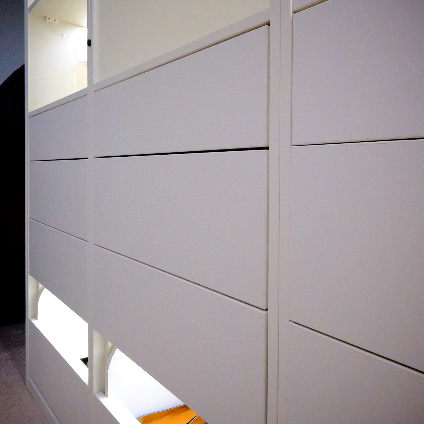 Handle-less BLUM drawers